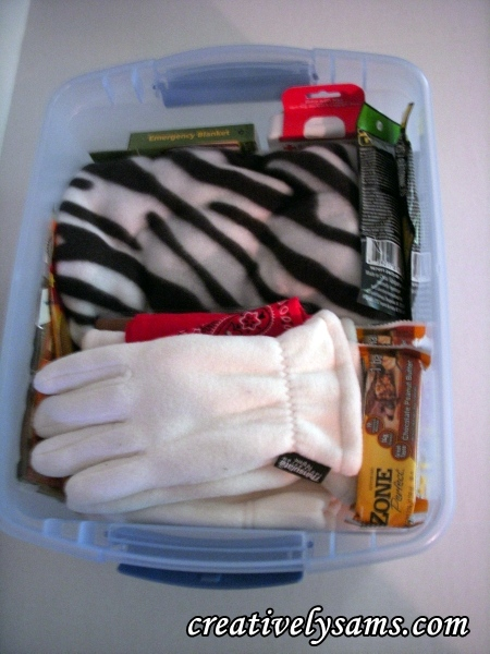 Winter Emergency Kit for the Car