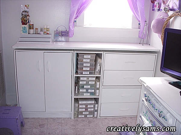 Crafting Cabinets Organization