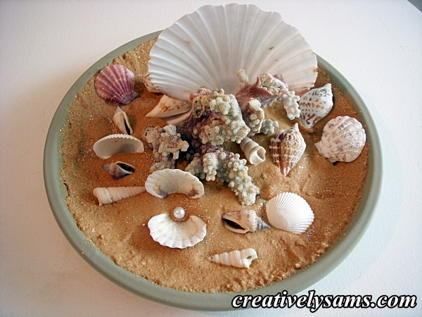 Sand & Shells Centerpiece
