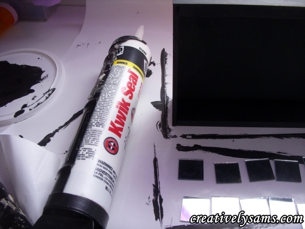 Kwik Seal Clear Caulk