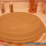 Paint Saucer