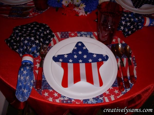 Flag Place Setting