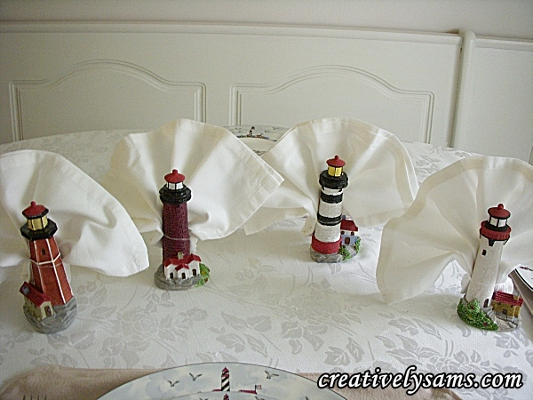 Lighthouses Napkin Holders