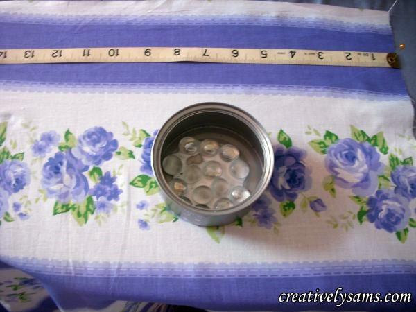 Measure fabric for pin cushion