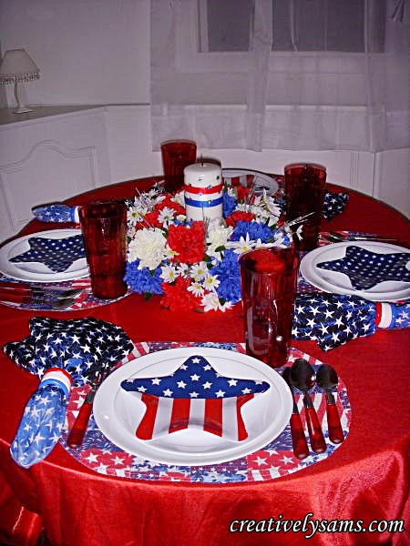 4th of JulyTablescape