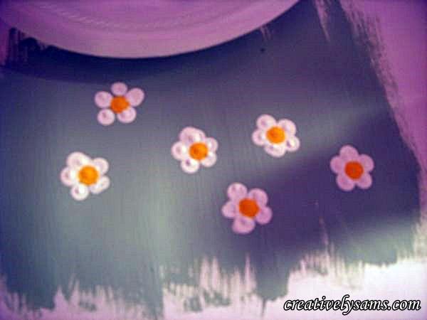 Dot Flowers Centers