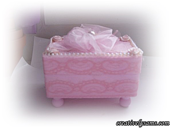 Shabby Chic Gift Box