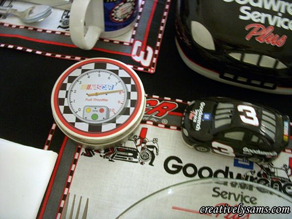NASCAR Tablescape
