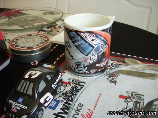 NASCAR Tablescape Kevin Harvick Mug