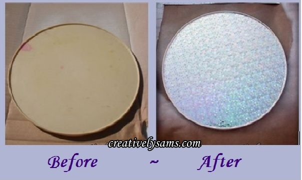 Saving a Turn Table (Lazy Susan) Before & After