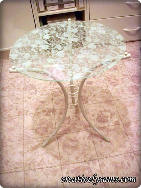 A Lacy Table - Finished