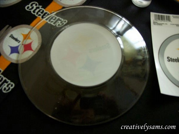 Steeler Tablescape Plate