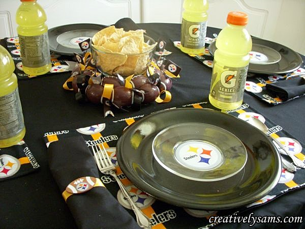 Steeler Tablescape
