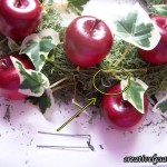 Adding Ivy to Apple Centerpiece