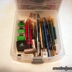 Make-up Storage colored eyeliner drawer