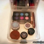 Make-up Storage colored shadow drawer