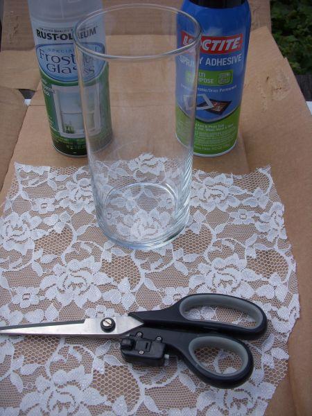 Lace Vases Supplies
