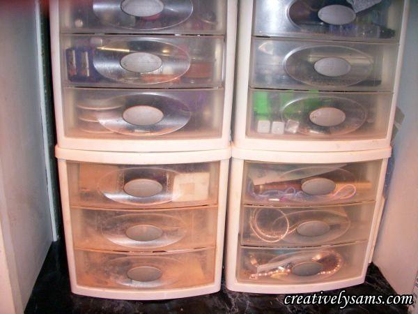 Make-up Storage before