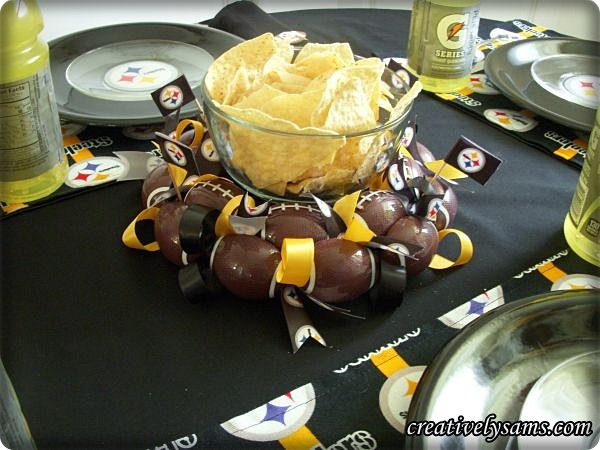 Steeler Centerpiece