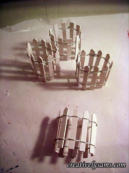 Picket Fence Napkin Rings