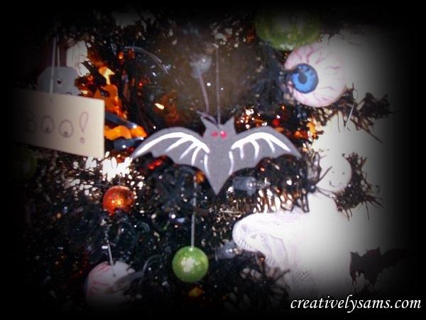 Foam Halloween Bats