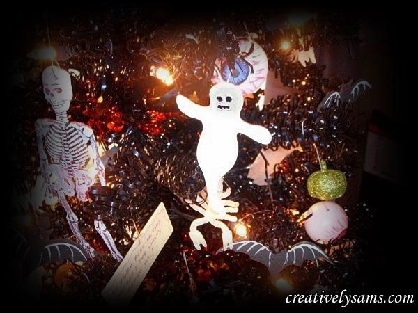 Foam Halloween Ghosts