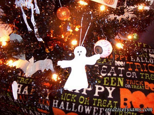 Foam Halloween Ghosts,hanging on the tree