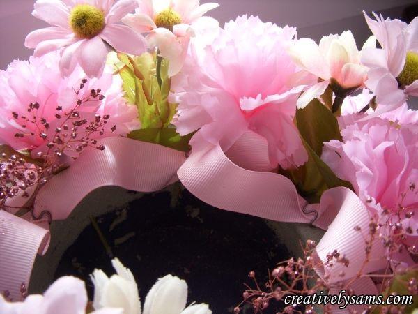 Breast Cancer Awareness Centerpiece