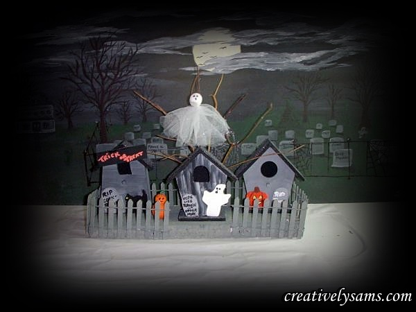 Haunted Birdhouses