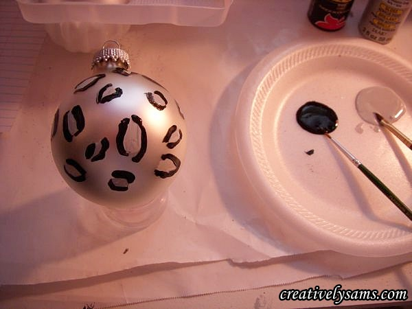Snow Leopard Ornaments
