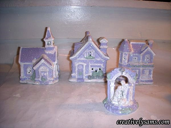 Shabby Chic Lilac Village