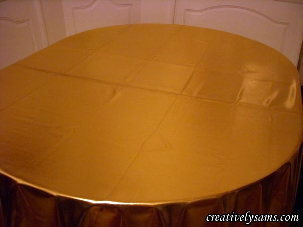 Gold Fabric Underlay