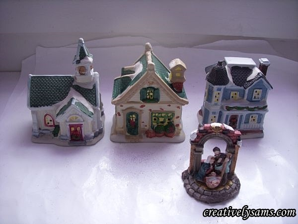 Dollar Tree Houses