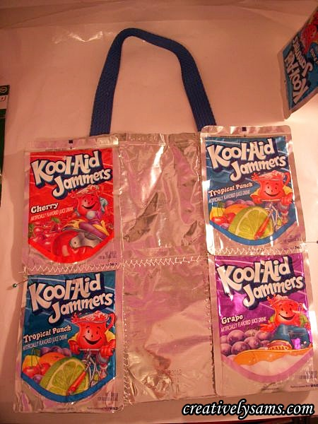Juice Pouch Tote Bag sides