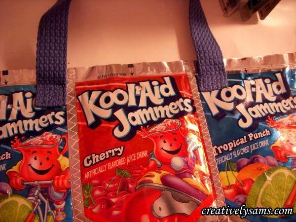 Juice Pouch Tote Bag Handles