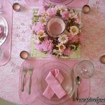Breast Cancer Awareness Tablescape