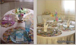 Easter Reversible Place Mats
