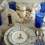 Lighthouse Tablescape