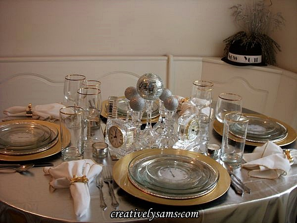 New Year's Tablescape