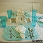 Turquoise Tablescape