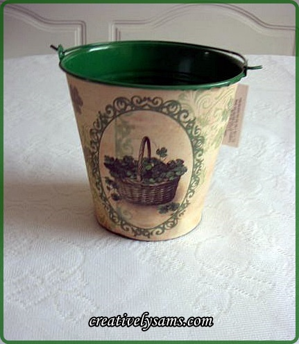 St. Patrick's Day Tin