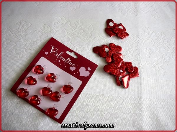 Valentine's Day Beads & Stickers