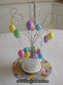 Easter Egg Ornament Tree