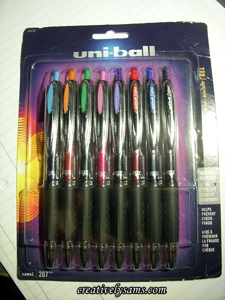 New Uni-ball Pens