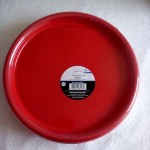 Red Plates for Valentine's Day