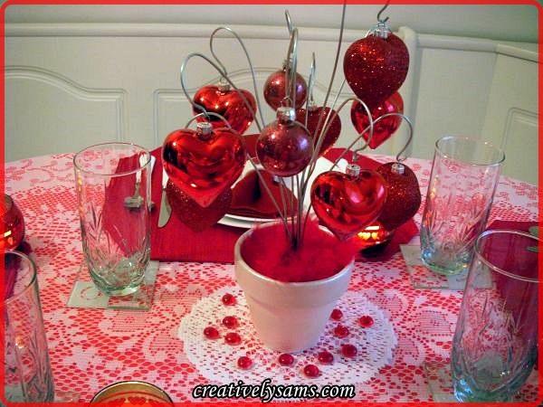 Valentine Love Centerpiece