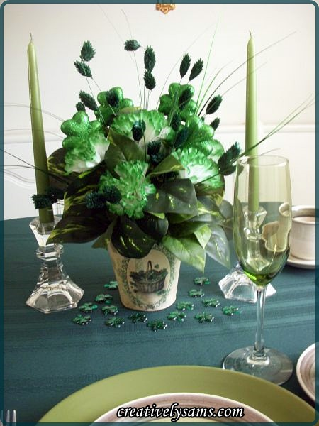 St. Paddy's Day Centerpiece