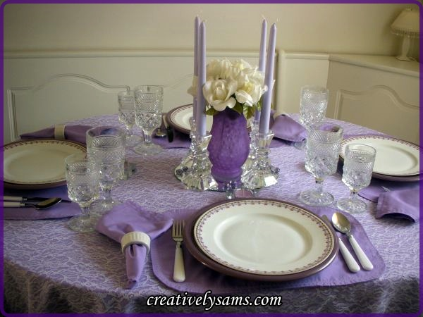 Epilepsy Awareness Tablescape