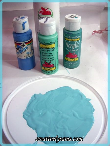 Egg Tree paint