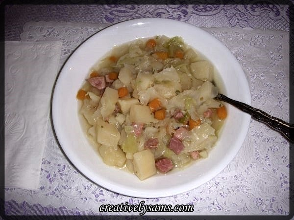 Ham & Cabbage Soup recipe